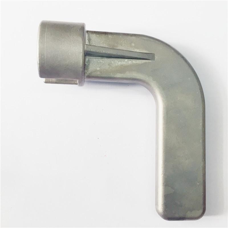 东莞精密铸造厂大量生产各类门把手 不锈钢门把手铸件 脱腊铸件